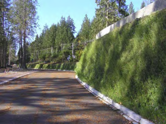 Flex MSE Vegetated Retaining Wall System