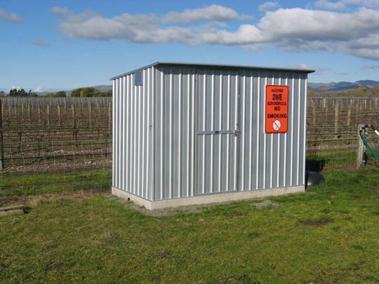 Chemical Storage Sheds