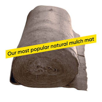 EcoWool Mulch Mat Rolls (Biodegradable)