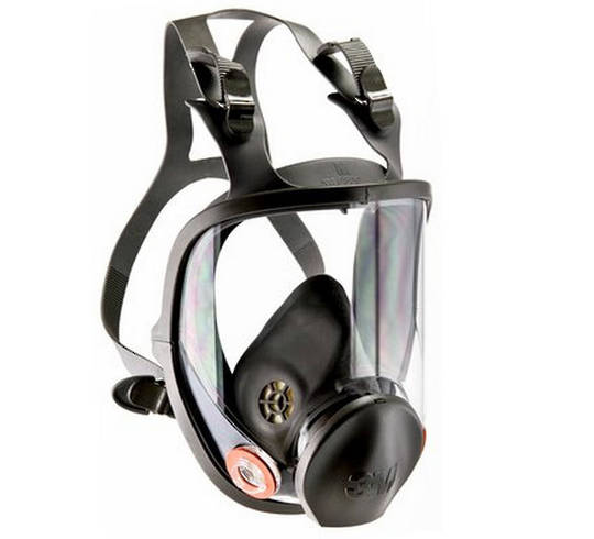 Full Face Respirator Mask 6800 and Accessories