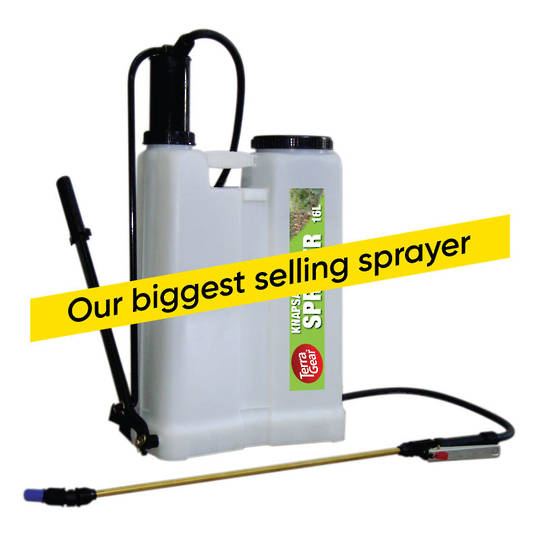 TerraGear Knapsack Sprayer (Piston) 16L