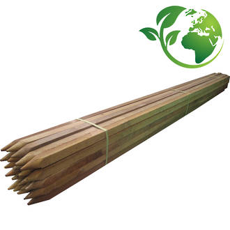 Premium Wooden Stakes 900-2400mm length