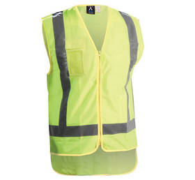 Light Hi Vis Safety Vest Yellow