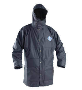 Parka Rain Jacket Flex Navy